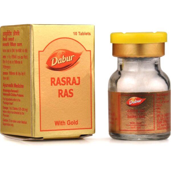Dabur Rasraj Ras with Gold Tablet