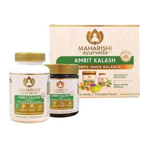 Maharishi Combo of Amrit Kalash 60 Tablets & 600 gm Paste