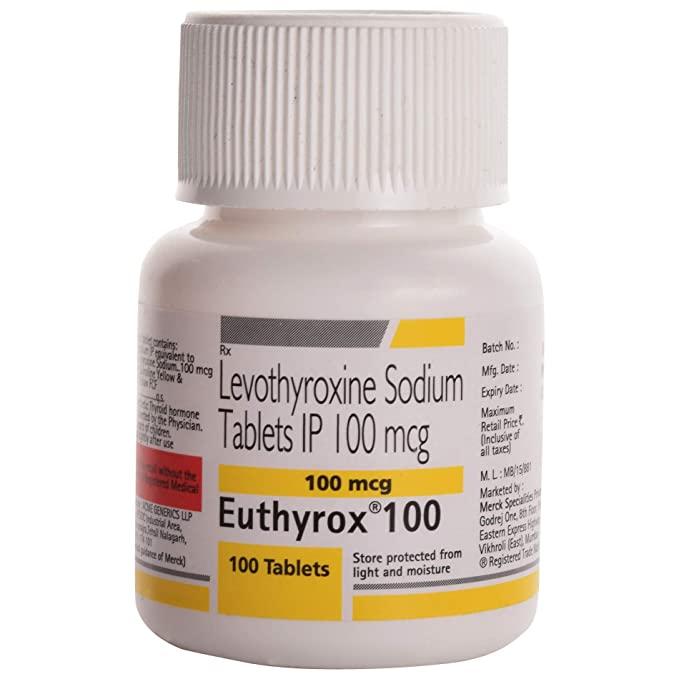 Euthyrox 100 Tablet